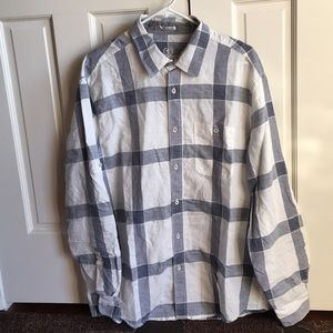 Men's Bugatchi Uomo Linen Shirt